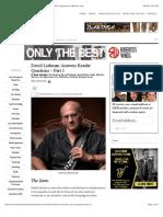 David Liebman Answers Reader Questions - Part 1 » Best. Saxophone. Website. Ever.