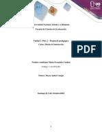 Diseño Propuesta Educativa Fase2
