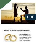 El Matrimonio Según La Biblia