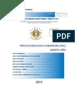 Portafolio Quinto Año 2019