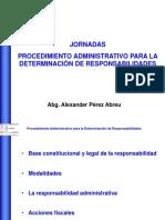Base Constitucional y Legal de La Responsabilidad