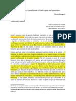 2010 - Bourgeois - Aprendizaje y Transformación Del Sujeto en Formación