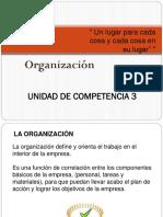 u3 organizacion