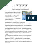 DEFINICIÓN DEQUIRÚRGICO.docx
