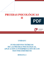 Clase 2 Pruebas Psicológicas II 2018 3