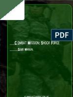 CMSF Game Manual