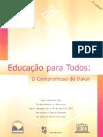 """Marco Fundador Da """"Educação Para Todos"""""""