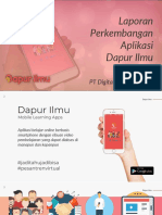 Laporan Perkembangan Aplikasi DalurIpmu - September 2018