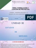Estudio de Mercado Unidad 3 Industrial