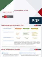Resultados de la Evaluación Censal de Estudiantes – ECE 2018 Región Huánuco