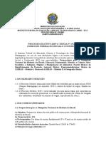 Edital FIC Nº15-2019