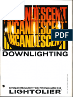 Lightolier Calculite and Lytecaster Incandescent Downlight Catalog 1978