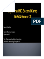 Wifi & GreenICT Myanmar ING 2nd Camp Kaung Myat Htut