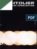 Lightolier Lytecaster Downlights Catalog 1979