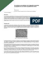 Articulo Tratamiento Termico de Residuos Procedentes de La Digestion Anaerobia de Lodos de La Industria Papelera en Un Reactor Spouted Bed Conico