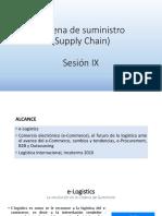 Cadena de Suministro IX