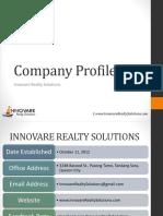 IRSC - General Company Presentation