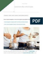 La Dieta Di Preparazione Alla Colonscopia _ Fondazione Umberto Veronesi