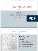 Metode Newmark