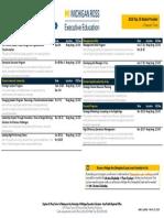 2019 Program Schedule