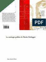 Bourdieu, Pierre - La ontología política de Martín Heidegger.pdf