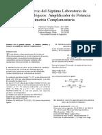 Informe Previo del Séptimo Laboratorio de Circuitos Analógicos-1