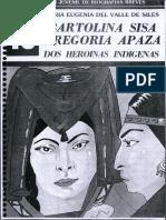 Bartolina Sisa Gregoria Apaza - Dos Heroinas Indigenas.pdf