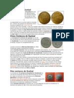 historia de las monedas y los billetes de Guatemala.docx