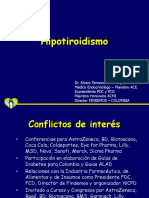 5. Hipotiroidismo Dr. Alvaro Rico