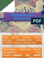 Keimanan dan Ketaqwaan.pptx
