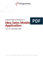 Proposal for Design and Development of Idea Sales Mobile Application_ MAY2016