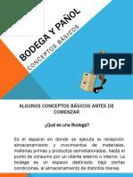 Bodega y Pañol Conceptos