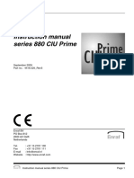 880 CIU Prime Instruction Manual