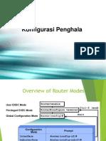 Konfigurasi Penghala (Router)