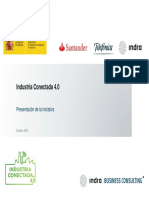 Presentación Industria 4.0 Indra Business Consulting
