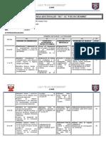 Informe de Horas Adicionales Matematica Marzo 2019