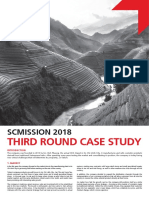 Scmission 2018 Third Round Case Study