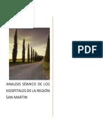 Informe de Analisis Sismico de Hospitales de La Region
