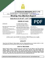 Tea Market Report 01