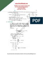 BPDB RPCL Exam Question Solution 21-01-2019