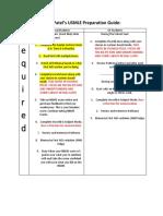 Guide to USMLE Step 1 Preparation