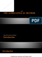 The Audio Lingual Method