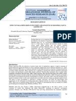 EFFECT OF MALACHITE GREEN ON FECUNDITY AND LONGEVITY OF DROSOPHILA NASUTA ALBOMICANS.