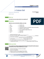Alexander Graham Bell British English Pre Intermediate Group