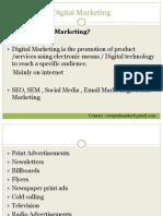 Digital Marketing Presentation