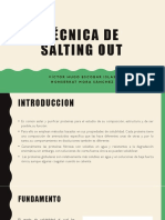 Técnica Salting Out