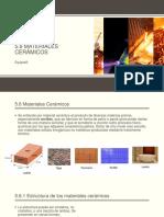 Unidad 5 Materiales Ceramicos