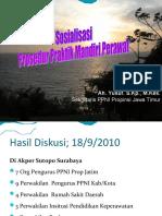Sosialisasi Prosedur Praktik Mandiri Perawat Jatim