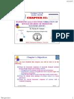 11_ME553_Term162_HMO (HARMONIC RESPONSE OF UNDAMPED SINGLE DEGREE OF FREEDOM SYSTEM).pdf