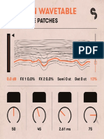Ableton Wavetable Patches